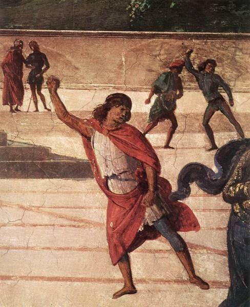 Baptism of Christ c1482 detail5